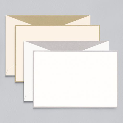 Silver and Gold Card Assortment 8 cards / 8 lined envelopes BY CRANE