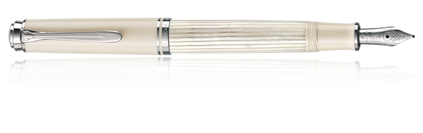 Pelikan Souverain 605 White Transparent, Medium Nib