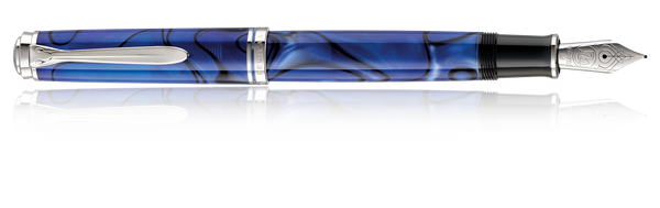 Pelikan Blue Dune 18k Fountain Pen  M805 Fine Nib