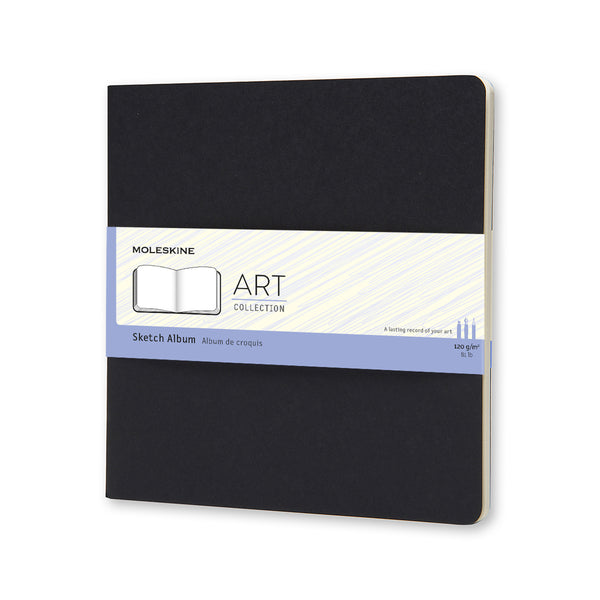 Moleskine ART Collection SketchAlbum SIZE: SQUARED (19X19 CM / 7.48X7.48 IN)