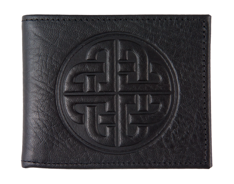 Oberon Wallet. Celtic Love Knot