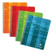 Clairefontaine Multi Subject Notebooks, Color Coded, Graph 4 3/4 x  6 ¾