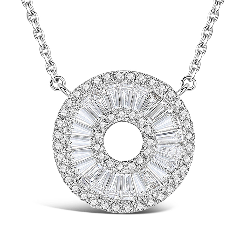 """To Be Whole"" Diamond Necklace"