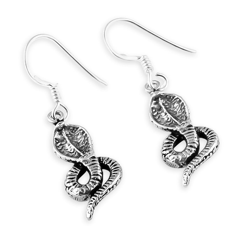 """Kalbeliya"" Cobra Earrings"