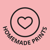 homemade prints bedding