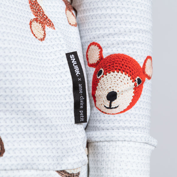 Teddy & Chimp by Anne-Claire Petit Loungewear Set Kids