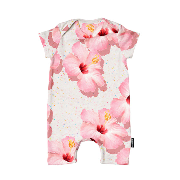 Pink Hawaii Playsuit Babies