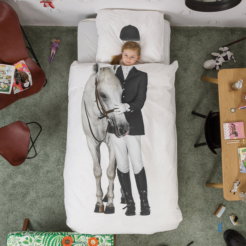 EQUESTRIAN DUVET COVER SET