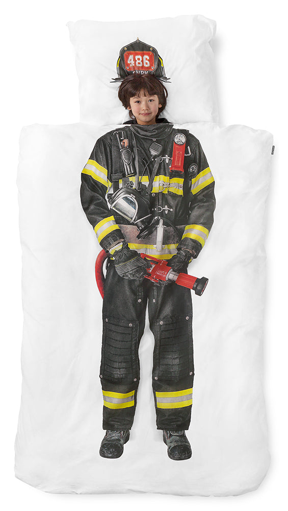 FIREFIGHTER DUVET COVER SET