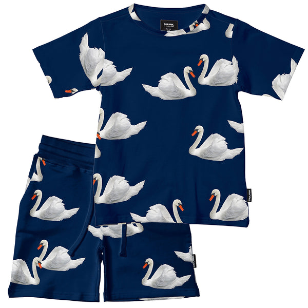 Swan Lake T-shirt & Short Set for Kids