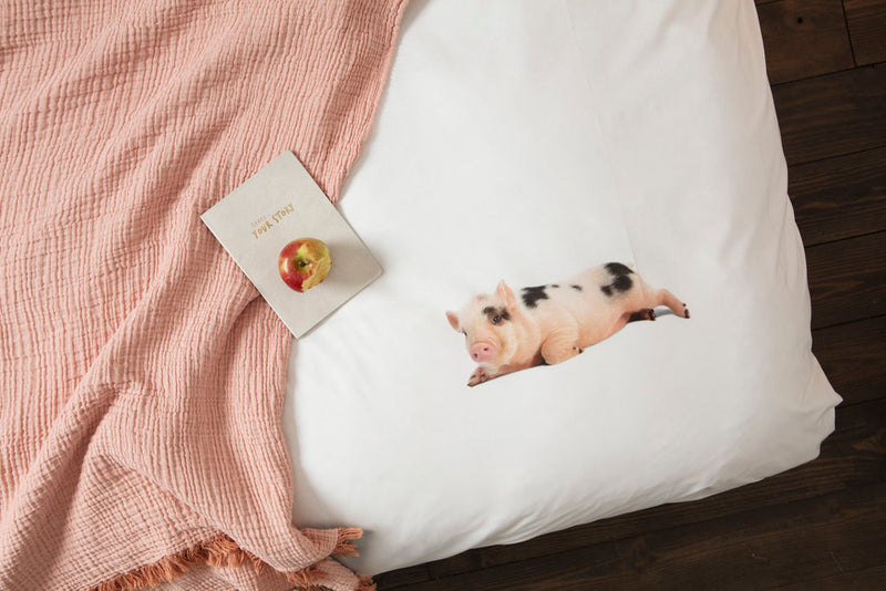 SNURK USA - PIGGY - DUVET COVER SET