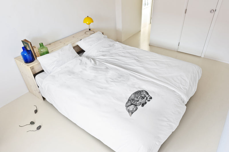 SNURK USA - OLLIE THE CAT - KIDS DUVET COVER SET