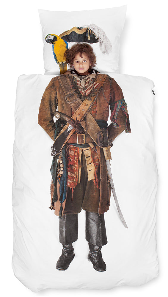 SNURK USA - PIRATE - KIDS DUVET COVER SET