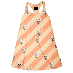 Alpacas Furreal Tank Dress for kids