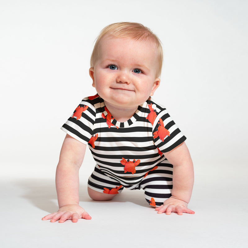 Clay Crab Baby T-Shirt & Shorts Set