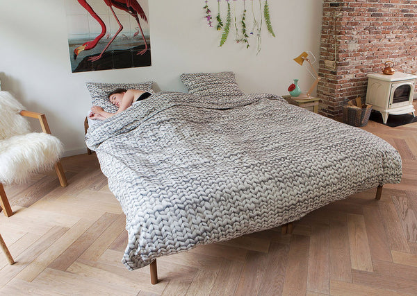 YARN DUVET COVER SET