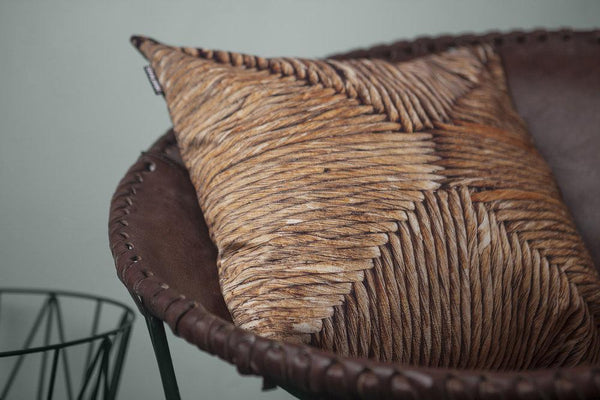 WILFRED WICKER PILLOW COVER