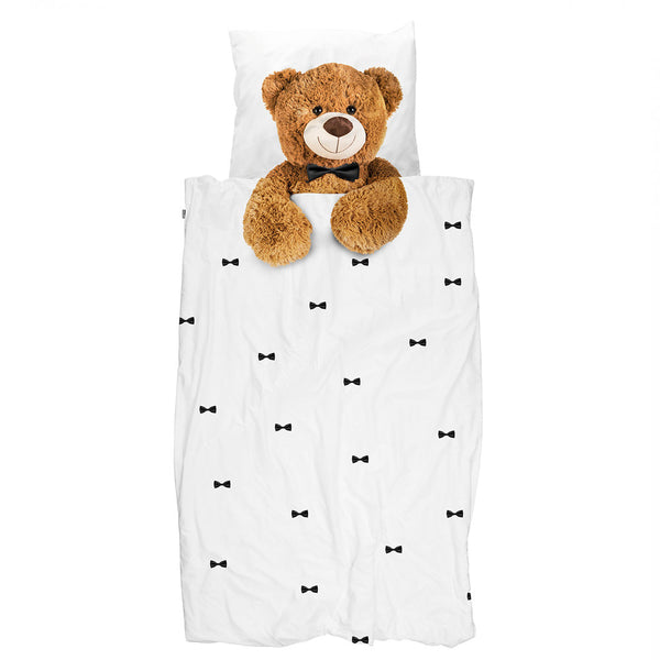 SNURK USA - TEDDY BEAR - KIDS DUVET COVER SET