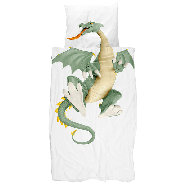 Dragon kids bedding