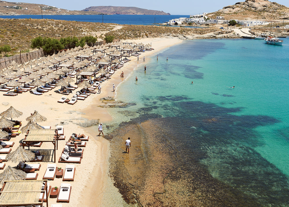 Beach Club in Mykonos