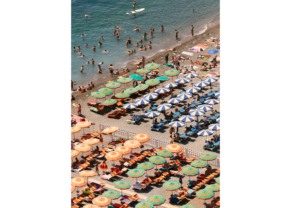 Positano Beach Vertical 1, Josh Welch Photography