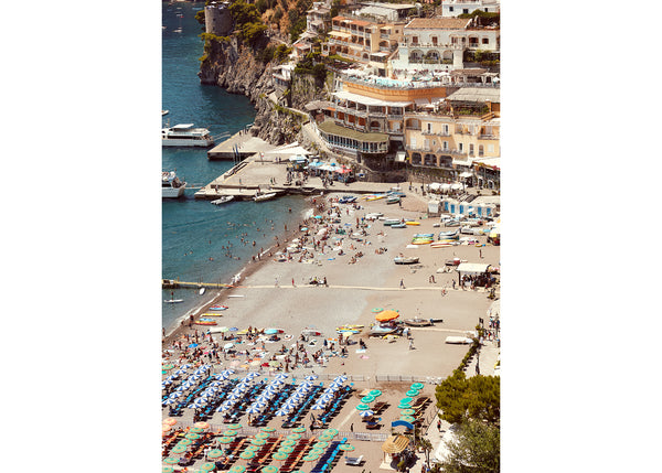 Positano Beach Vertical 2, Josh Welch Photography