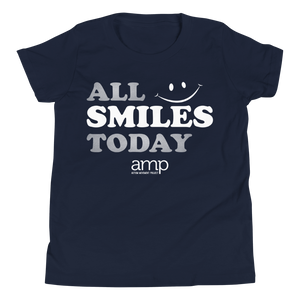 Youth All Smiles Today Short Sleeve T-Shirt