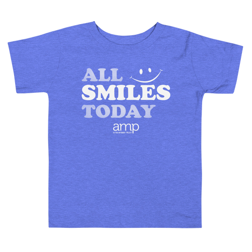Toddler All Smiles Today Short Sleeve Tee