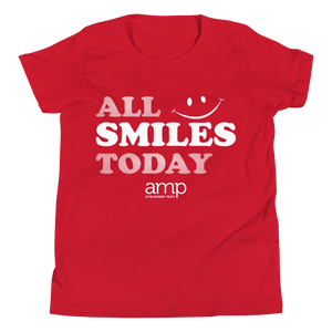All Smiles Today Youth Short Sleeve T-Shirt