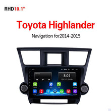 Load image into Gallery viewer, GPS Navigation for Car Toyota Highlander2014-2015