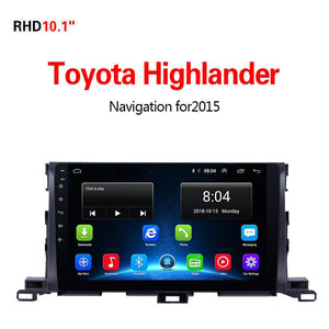 GPS Navigation for Car Toyota Highlander2015