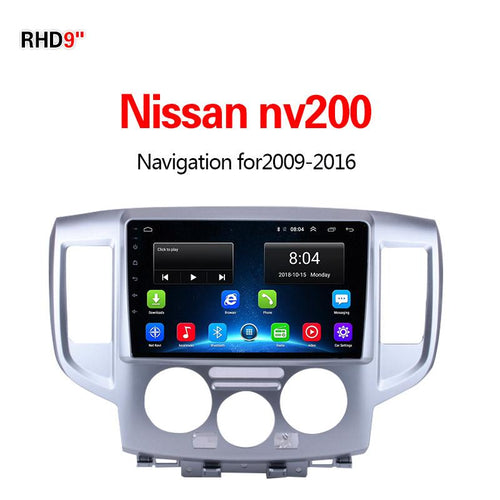 GPS Navigation for Car NissanNV2002009-2016