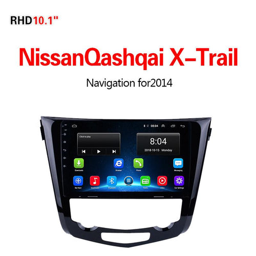 GPS Navigation for Car NissanQashqai X-Trail2014