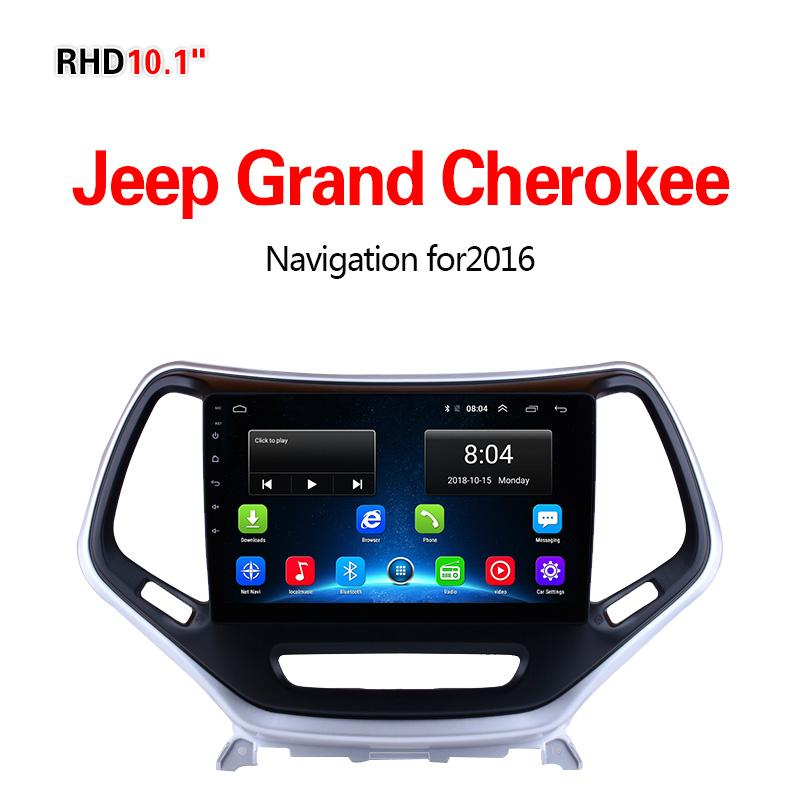 GPS Navigation for Car Jeep Grand Cherokee2016