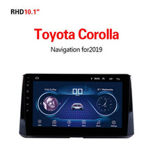 Load image into Gallery viewer, GPS Navigation for Car Toyota Corolla2019
