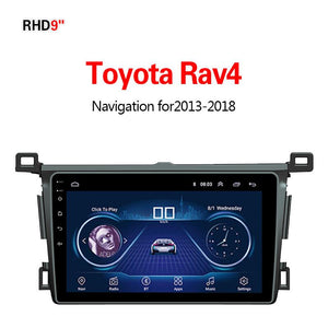 GPS Navigation for Car Toyota RAV42013-2018