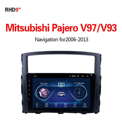 GPS Navigation for Car Mitsubishi Pajero V97/V932006-2013