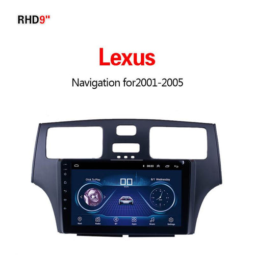 GPS Navigation for Car Lexus2001-2005