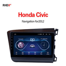 Load image into Gallery viewer, GPS Navigation for Car Honda CIVIC2012