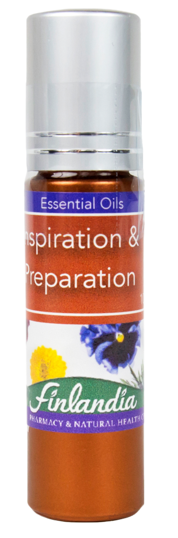 Inspiration and preparation essential oil roll-on
