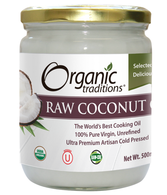 Organic Traditions Raw Coconut Oil