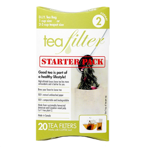 Tea Brew Unbleached Starter Pack 20 pcs