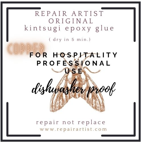 The original COPPER 'RepairArtist' Kintsugi kit for professional use