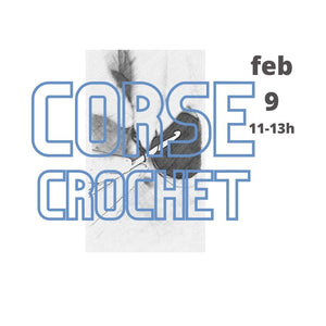 Basic course crochet individual 9 feb.11-13h