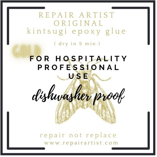 The original GOLD 'RepairArtist' Kintsugi kit for professional use