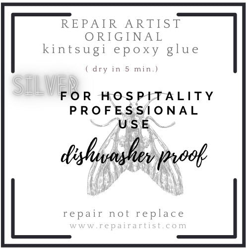 The original SILVER 'RepairArtist' Kintsugi kit for professional use