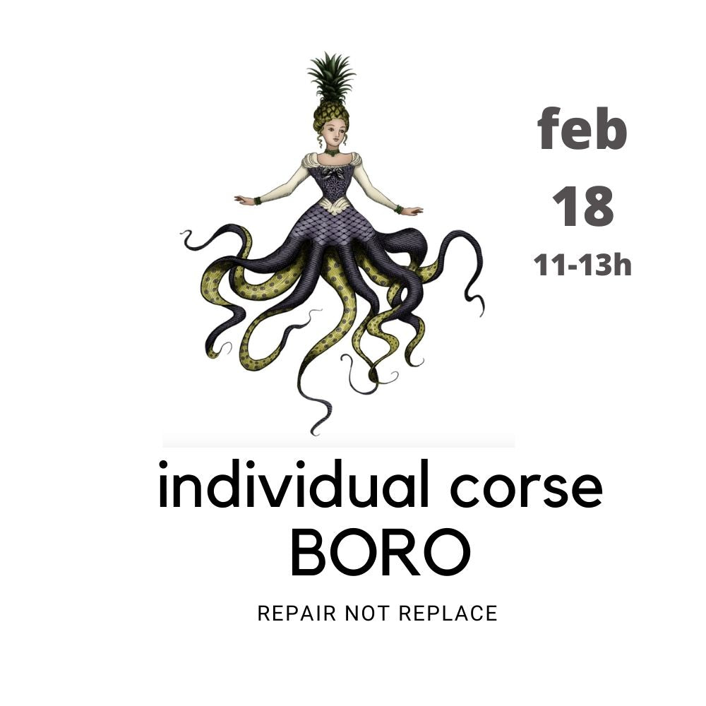 WORKSHOP BORO (darning) individual  18 feb 11-13h