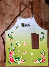 Load image into Gallery viewer, Bespoke fabric design apron with logo