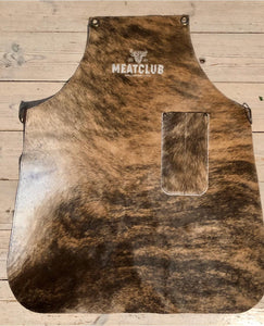 Men cowhide leather apron