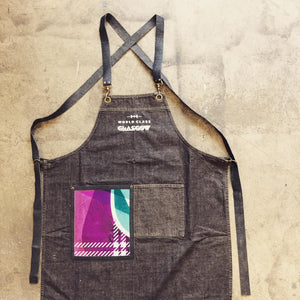 "Basic denim apron men ( case study ""Worldclass"")"